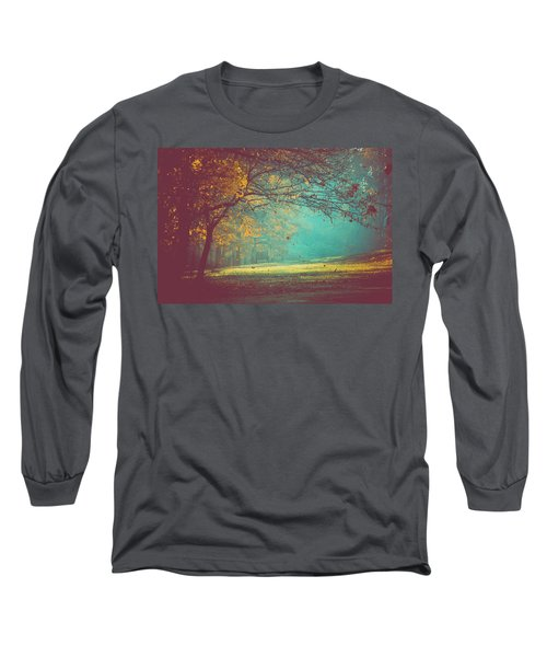 Painted Sunrise Long Sleeve T-Shirt