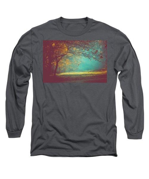 Painted Sunrise Long Sleeve T-Shirt