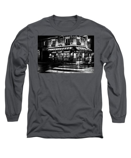 Paris At Night - Rue Bonaparte Long Sleeve T-Shirt