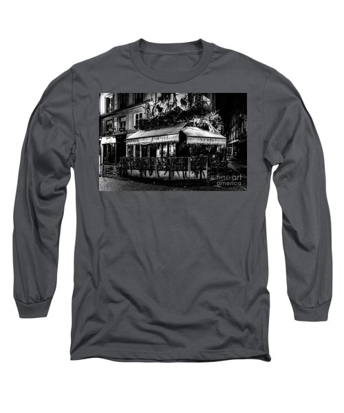 Paris At Night - Rue De Buci Long Sleeve T-Shirt