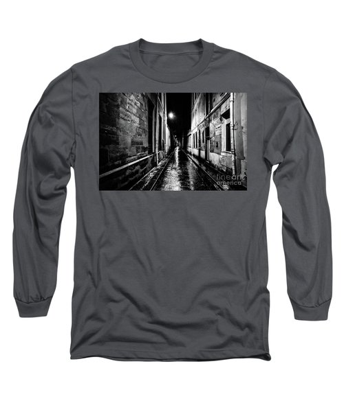 Paris At Night - Rue Visconti Long Sleeve T-Shirt