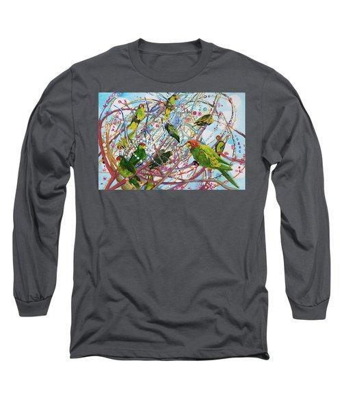 Parrot Bramble Long Sleeve T-Shirt