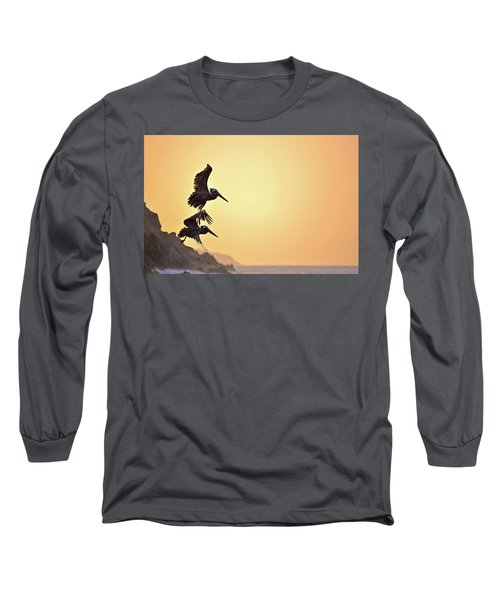 Pelican Down Long Sleeve T-Shirt