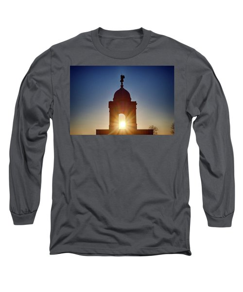 Pennsylvania State Monument Long Sleeve T-Shirt
