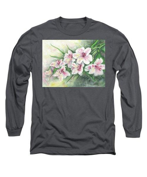 Peruvian Lilies Long Sleeve T-Shirt