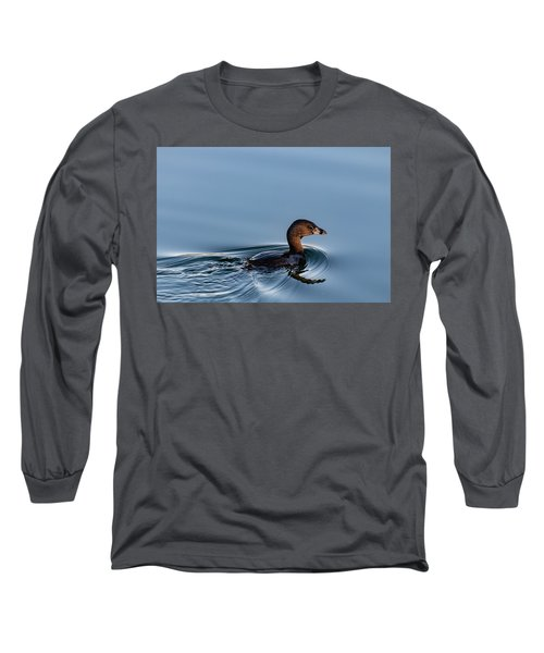Pied-billed Grebe Long Sleeve T-Shirt