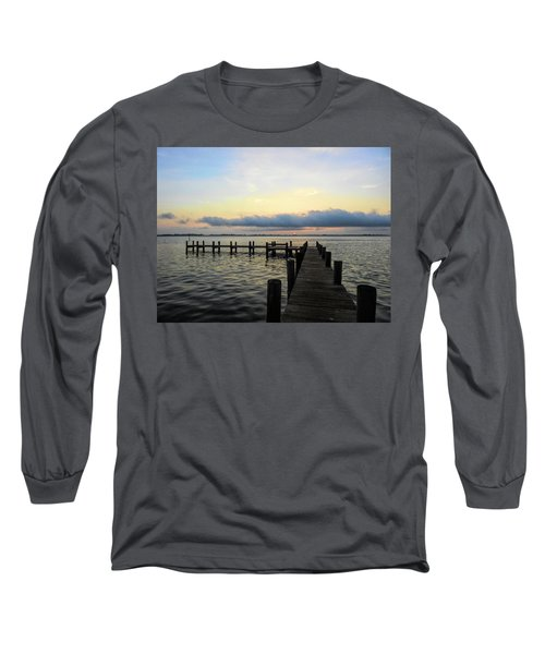 Pier Into Morning Long Sleeve T-Shirt