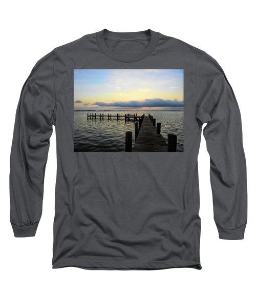 Pier Into Morning Long Sleeve T-Shirt