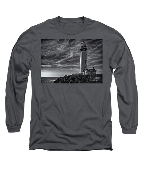 Pigeon Point Light Station Long Sleeve T-Shirt