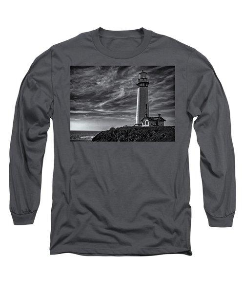 Pigeon Point Light Station Long Sleeve T-Shirt