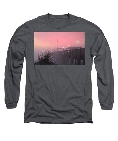 Pink Fog At Dawn Long Sleeve T-Shirt