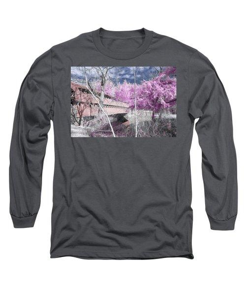 Pink Sachs Long Sleeve T-Shirt