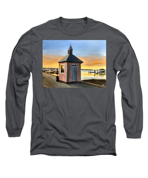 Pink Shed Long Sleeve T-Shirt