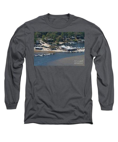Pirates Cove - Natural Long Sleeve T-Shirt
