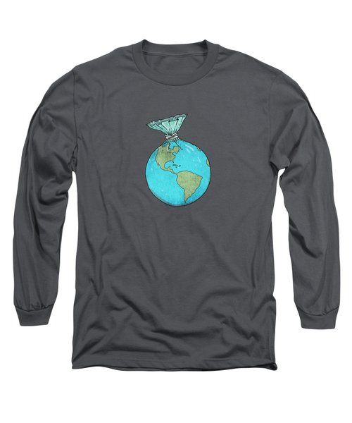 Plastic Planet Long Sleeve T-Shirt