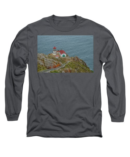 Point Reyes Lighthouse Long Sleeve T-Shirt