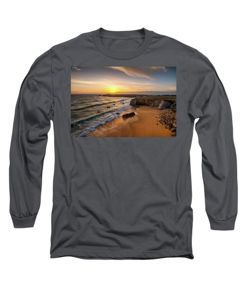 Pointe Du Percho And Port Blanc Long Sleeve T-Shirt