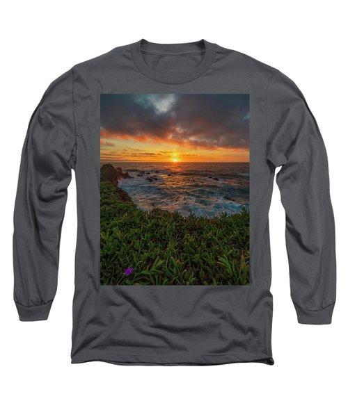 Pomo Bluffs Sunset - 2 Long Sleeve T-Shirt