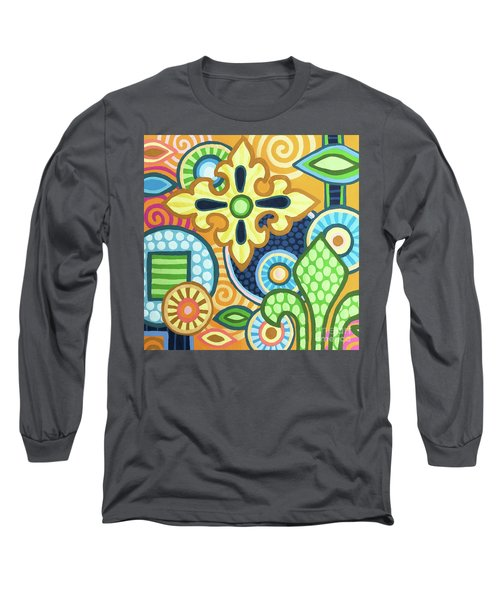 Pop Botanical 1 Long Sleeve T-Shirt