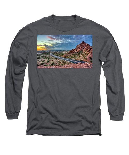 Popago Park Views  Long Sleeve T-Shirt
