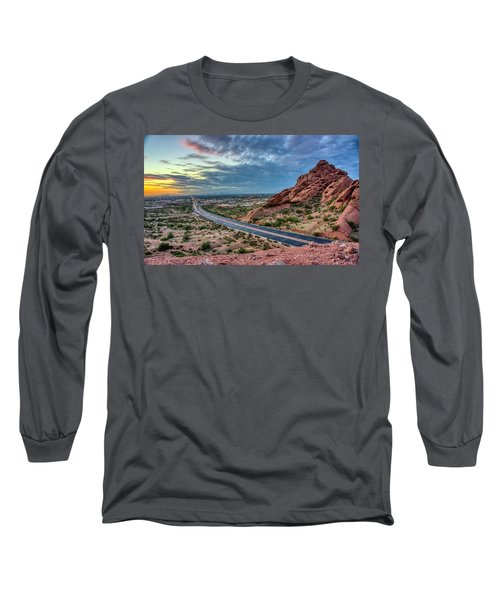 Popago Park Views  Long Sleeve T-Shirt