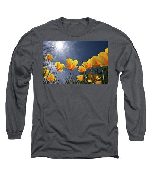 Poppies Enjoy The Sun Long Sleeve T-Shirt