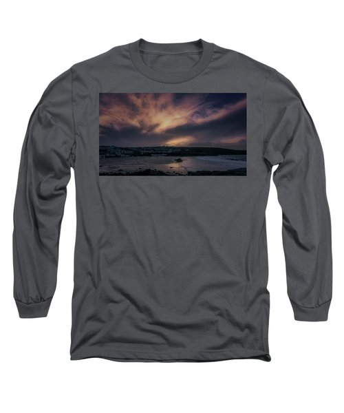 Porthmeor Sunset 4 Long Sleeve T-Shirt
