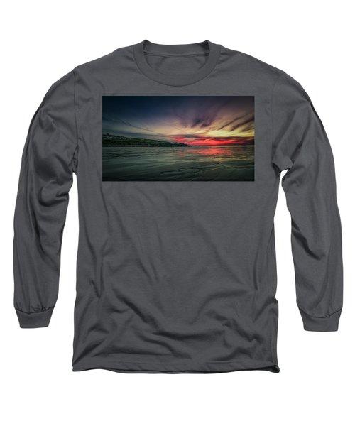 Porthmeor Sunset Version 2 Long Sleeve T-Shirt