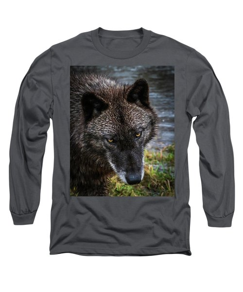 Portrait Niko Long Sleeve T-Shirt