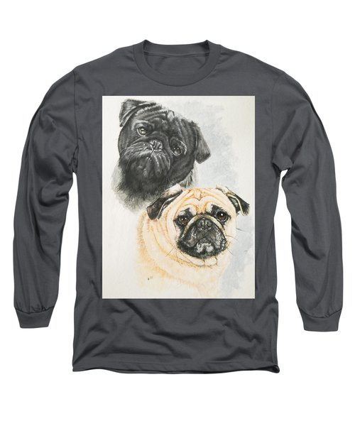 Pug Brothers Long Sleeve T-Shirt
