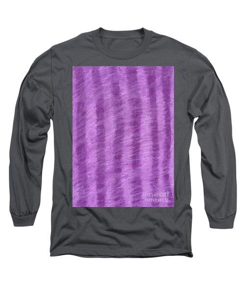 Purple Hazy Nights Long Sleeve T-Shirt