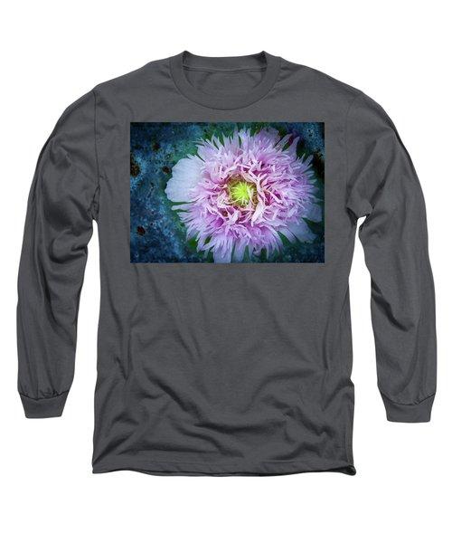 Purple Poppy Long Sleeve T-Shirt