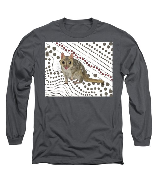 Q Is For Quoll Long Sleeve T-Shirt