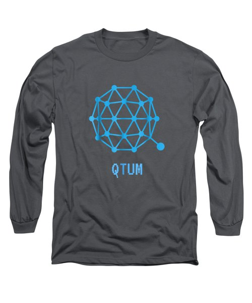 Qtum Cryptocurrency Crypto Tee Shirt Long Sleeve T-Shirt