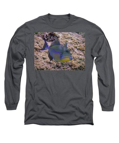 Queen Profile Long Sleeve T-Shirt