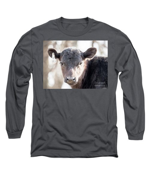 R181 Cow Long Sleeve T-Shirt
