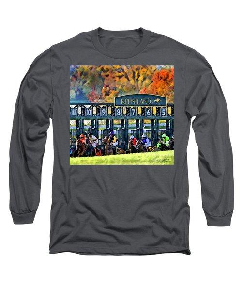 Fall Racing At Keeneland  Long Sleeve T-Shirt