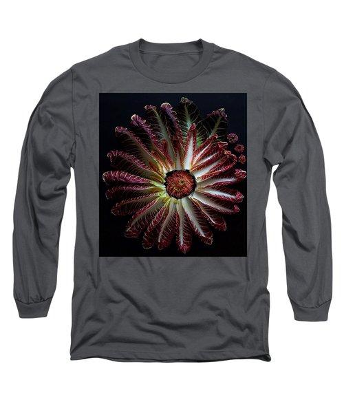 Radicchio Burst Long Sleeve T-Shirt