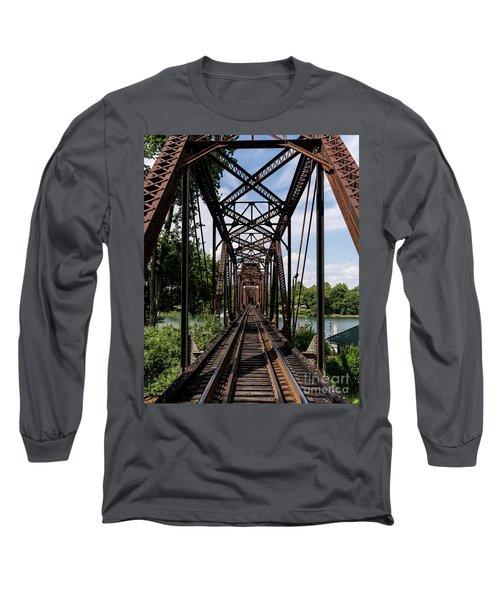 Railroad Bridge 6th Street Augusta Ga 1 Long Sleeve T-Shirt