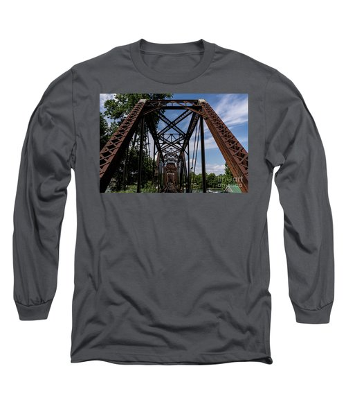 Railroad Bridge 6th Street Augusta Ga 2 Long Sleeve T-Shirt