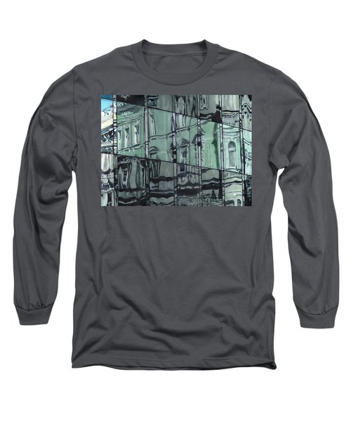 Reflection On Modern Architecture Long Sleeve T-Shirt