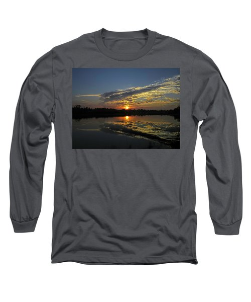 Reflections Of The Passing Day Long Sleeve T-Shirt