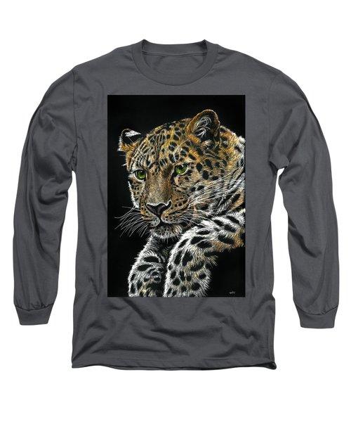 Resting Leopard Long Sleeve T-Shirt