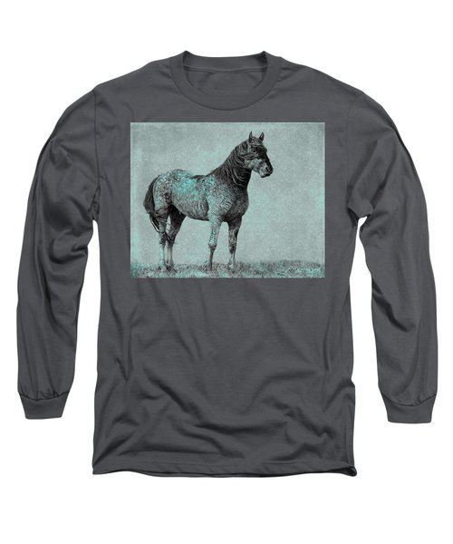 Long Sleeve T-Shirt featuring the photograph Rhapsody In Blue by Mary Hone