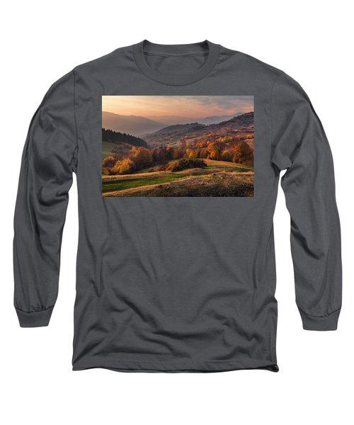 Rhodopean Landscape Long Sleeve T-Shirt