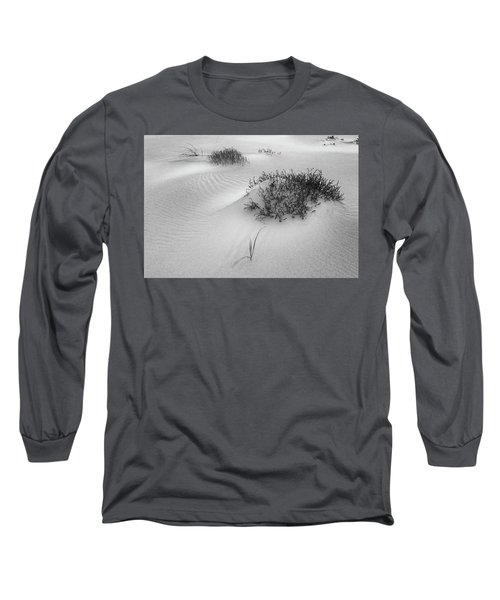 Long Sleeve T-Shirt featuring the photograph Ripples, Crane Beach Ipswich Ma. by Michael Hubley
