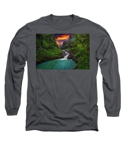 Road To Hana, Hi Long Sleeve T-Shirt