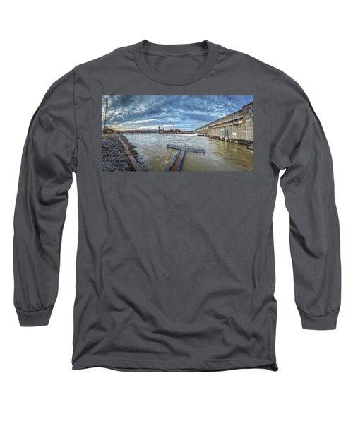 Roaring River Below Chickamauga Dam Long Sleeve T-Shirt