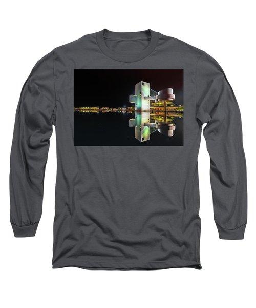 Rock Hall Reflections  Long Sleeve T-Shirt