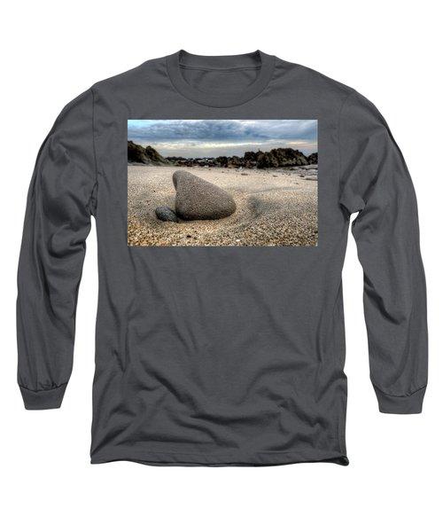 Rock On Beach Long Sleeve T-Shirt